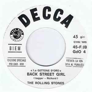 The Rolling Stones - Yesterday's Papers / Back Street Girl